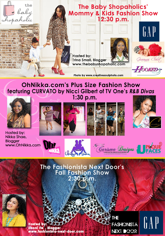baby shopaholic kids fashion show at cbww family health
