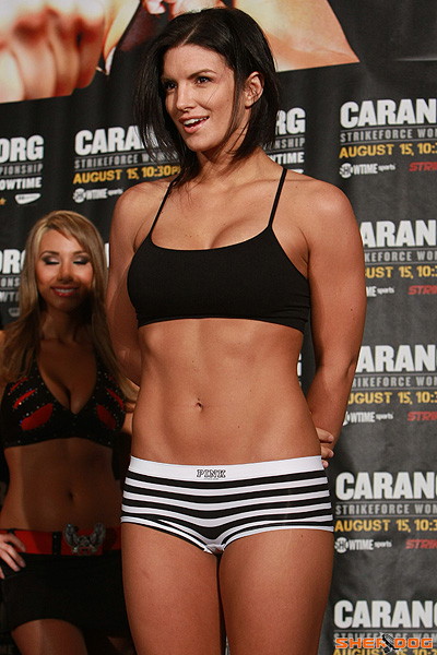gina carano hot girls