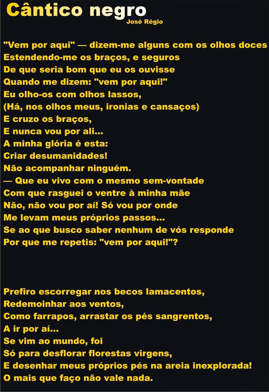 Cântico Negro