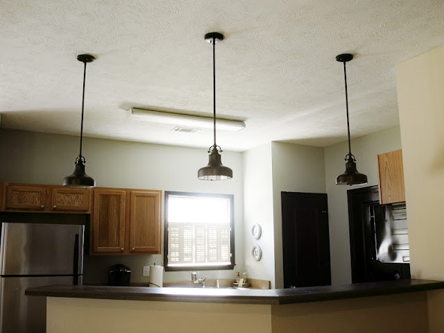 Semi DIY Nautical Pendant Lights