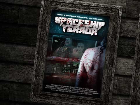 Spaceship terror l'affiche