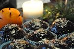 Piernikowe muffinki z konfiturą