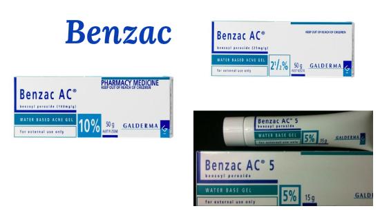 benzac peroxido de benzoila acne