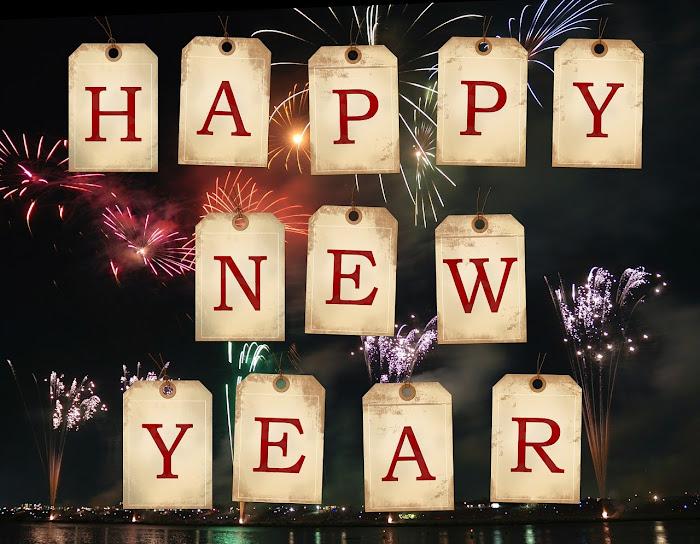 Happy new year image.