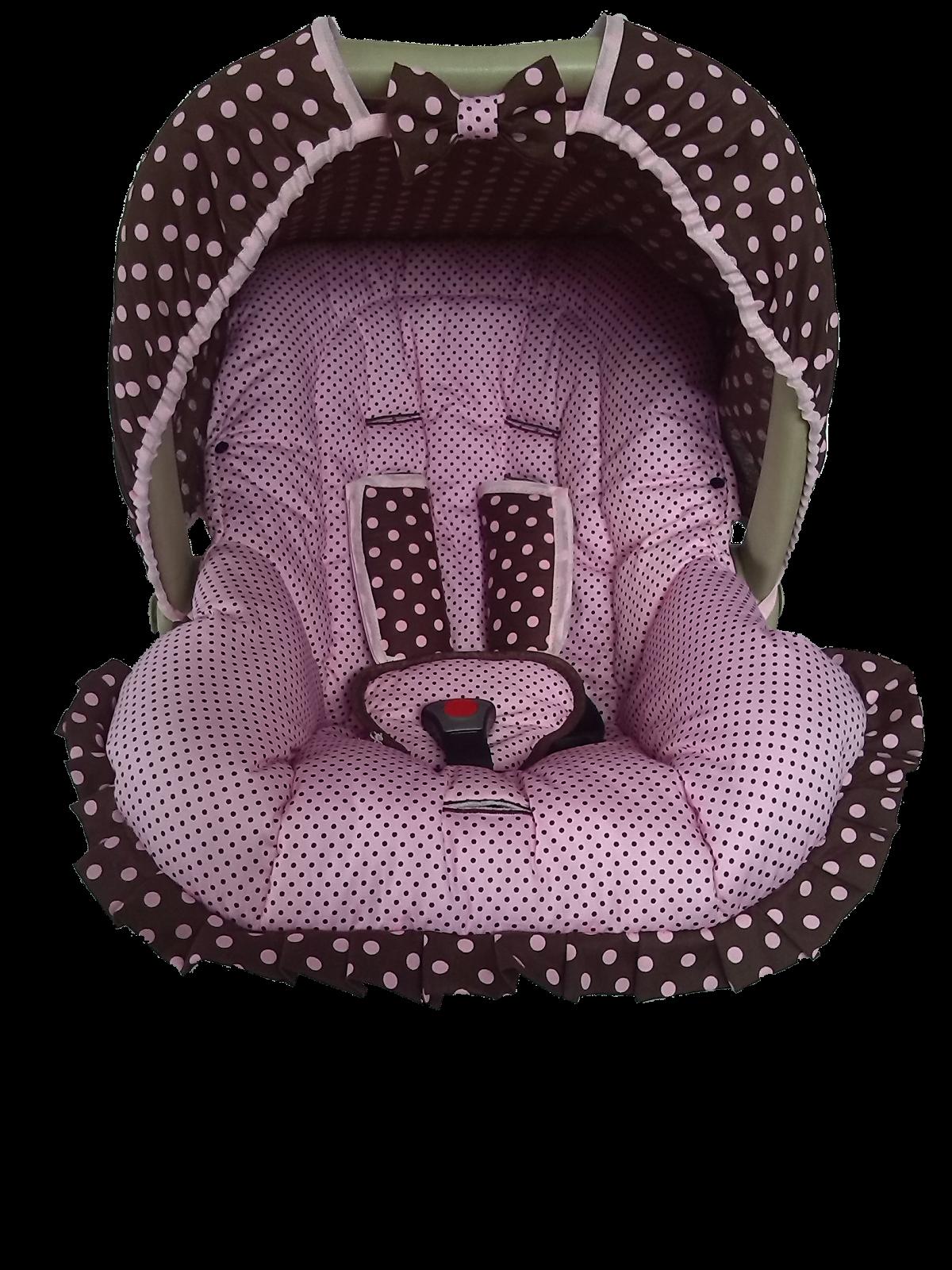 Capa Para Bebê Confort Menina
