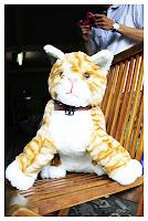 Boneka Kucing Belang