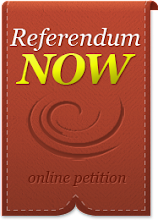 Call for a referendum on the Austerity Treaty