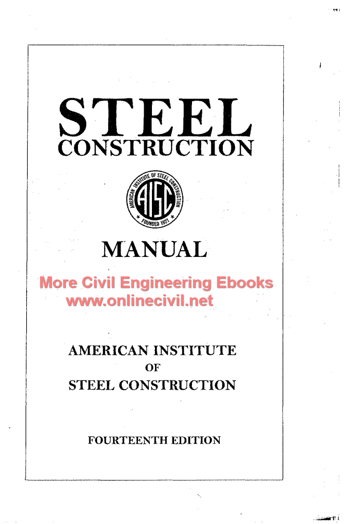 Aisc steel manual 13th edition ebook array steel construction manual pdf the best construction of 2018 rh newwindow site fandeluxe Image collections