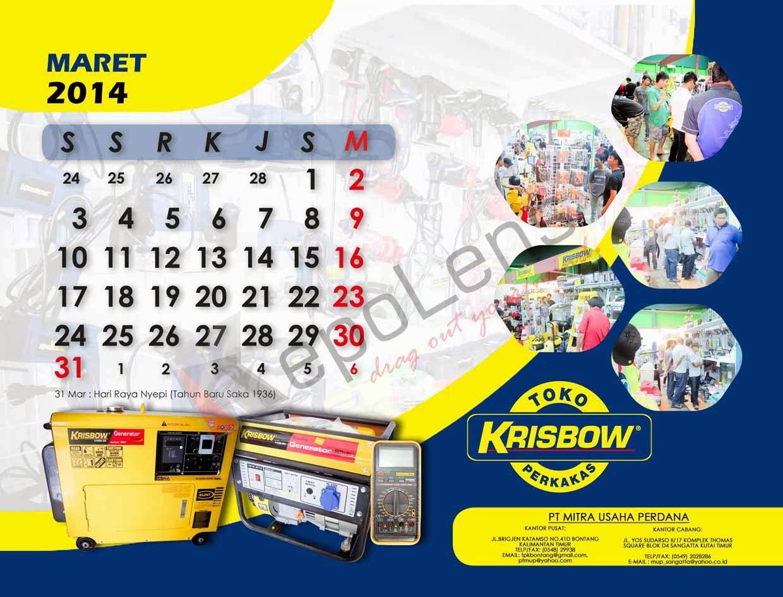 Harga cetak kalender design kalender 2014 buku tahunan for Kalender design