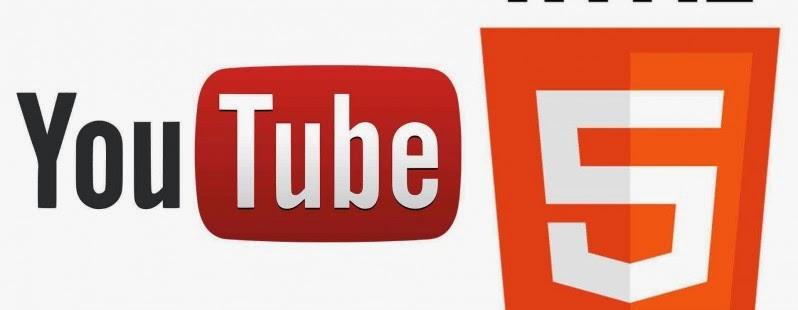 أعلن موقع يوتيوب أنه سيتم التحول إلى HTML5 كمشغل إفتراضي للفيديو.  موقع تبادل ملفات الفيديو يدعم HTML5 بالفعل بطريقة كبيرة، لكن لا يزال فلاش بلاير المشغل الإفتراضي للفيديو في كثير من المتصفحات .