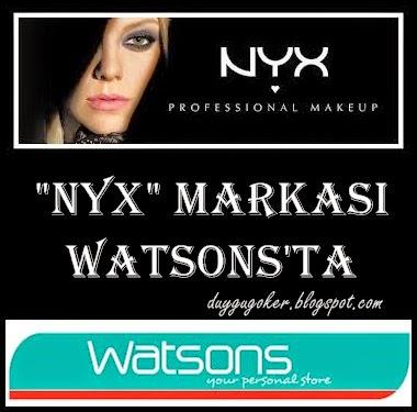 NYX Markası Artık Watsons'ta