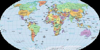 โลกของเรา..ชื่อเมืองหลวง - ประเทศทั่วโลก