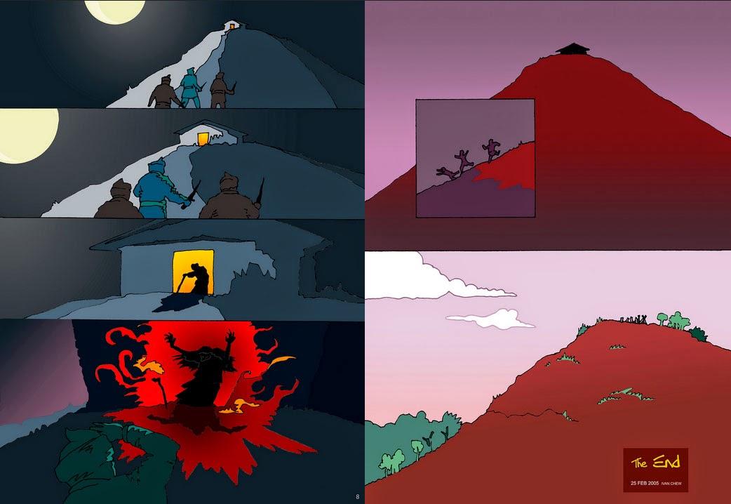 Легенда о Bukit Merah