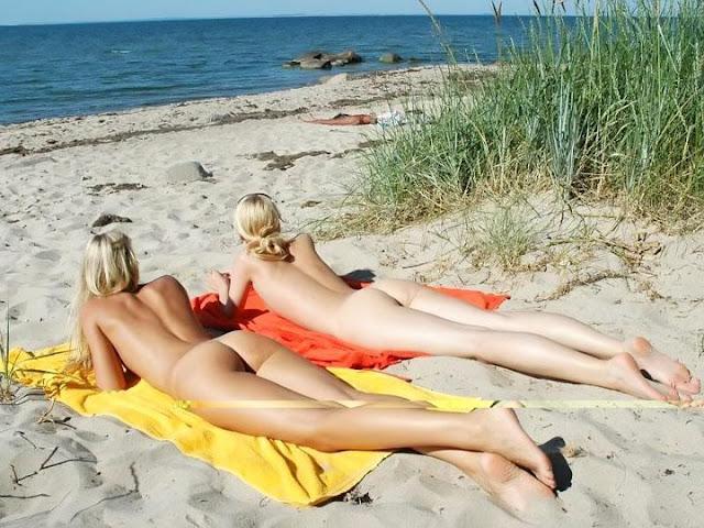 Нудист фото пляж