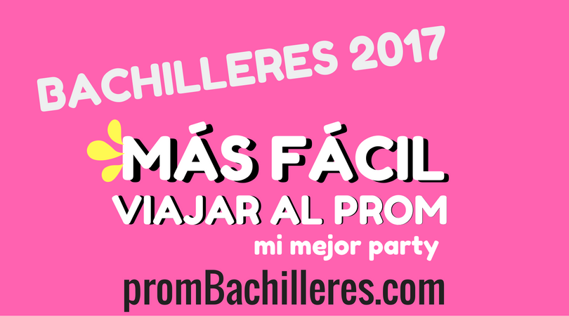 PROM BACHILLERES 2017