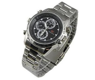 8GB Spy Watch Camera WaterProof Hidden Video Recorder Mini DVR Camcorder