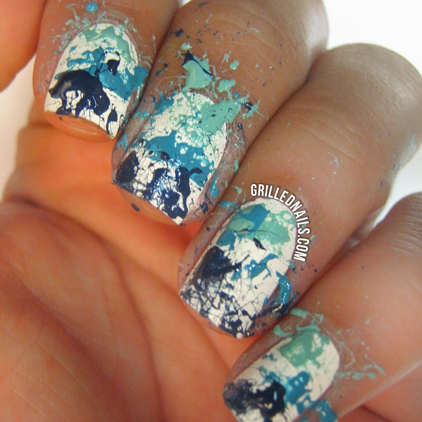 Awesome Funky Nails Art Thick Spring Nail Polish Rectangular Diflucan Nail Fungus Nail Treatment Fungus Young Gosh Nail Polish ColouredNail Bed Fungus Paint Splatter Acrylic Nails Images