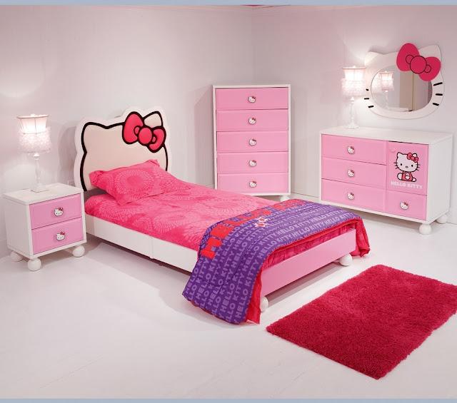 ... HELLO KITTY - BEDROOM FOR GIRLS HELLO KITTY - DORMITORIO JUVENIL HELLO