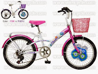 City Bike WIMCYCLE Mini CRUISER ELECTRA 6 Speed 20 Inci
