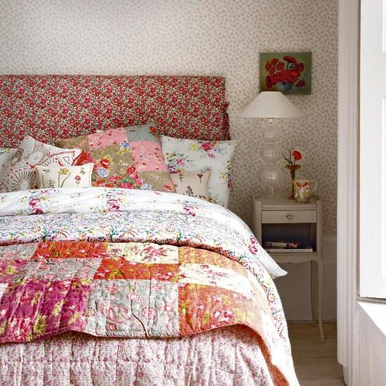 Habitaciones Decoracion Vintage ~ Como recomendaci?n final los estampados en las ropas de cama se