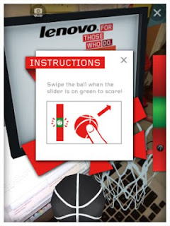 Lenovo Shooting Game