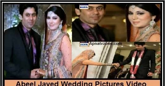 abeel javed wedding pictures and interview with her