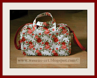 Summer Bag for rainy days      wesens-art.blogspot.com
