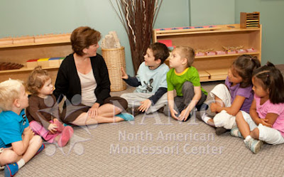 teacher and children in NAMC montessori classroom important things montessori teachers learn from experience
