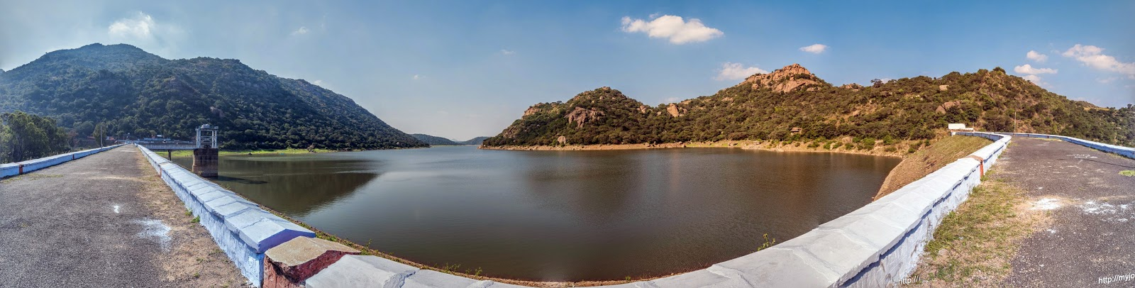Panoramic View of Panchapalli Dam