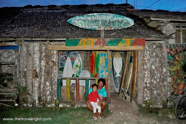 Surfboard maker in Burgos Siargao