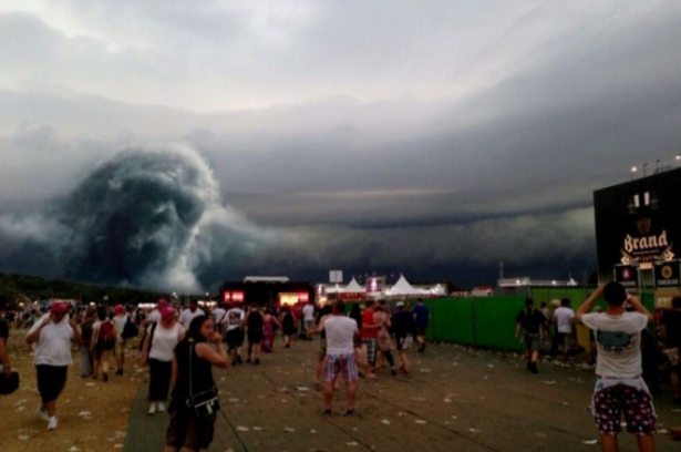 nuage démoniaque ...