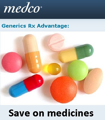 Www.Medco.com/Generics: Medco Generics Rx Advantage for Savings in Prescriptions
