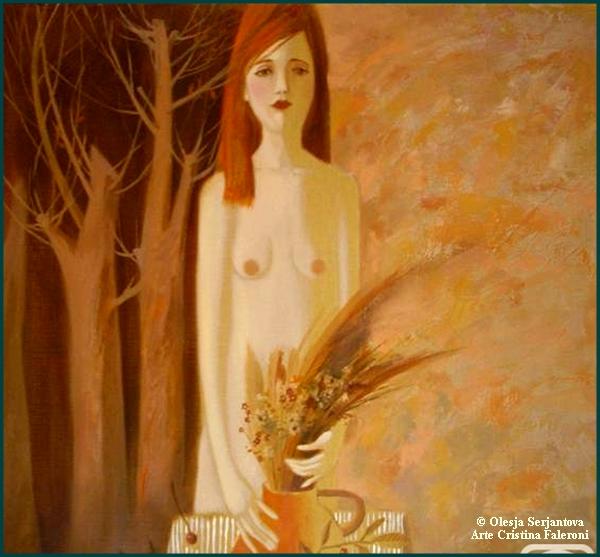 Artista Olesja Serjantova
