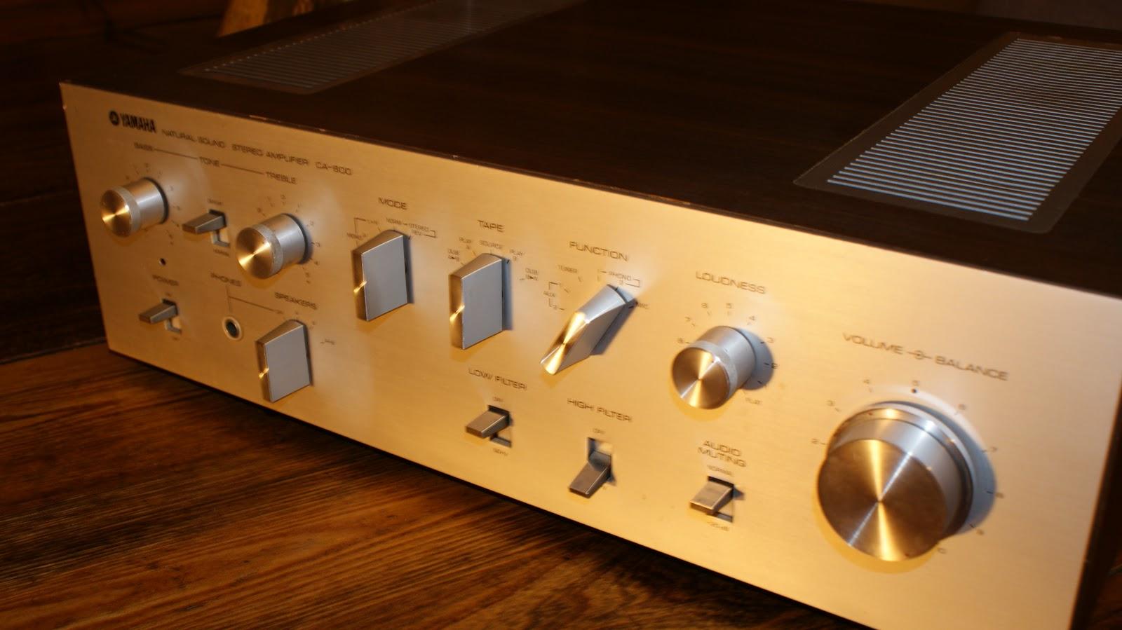 Yamaha CA600 Amplifier