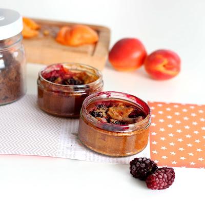 image clafoutis abricots & mûres