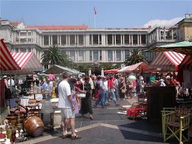 mercatino nizza  francia