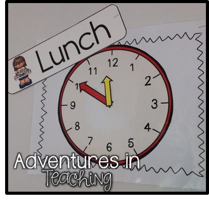http://www.teacherspayteachers.com/Product/Time-to-Go-Mock-Clock-Faces-1454672