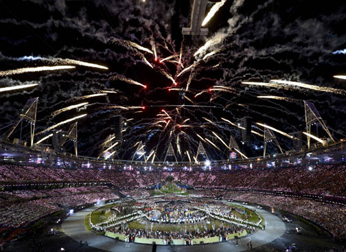 London 2012 Olympics Opening Ceremony