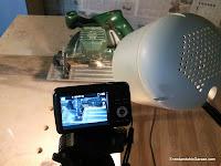 Ready to record my youtube video. Rummageinthegarage