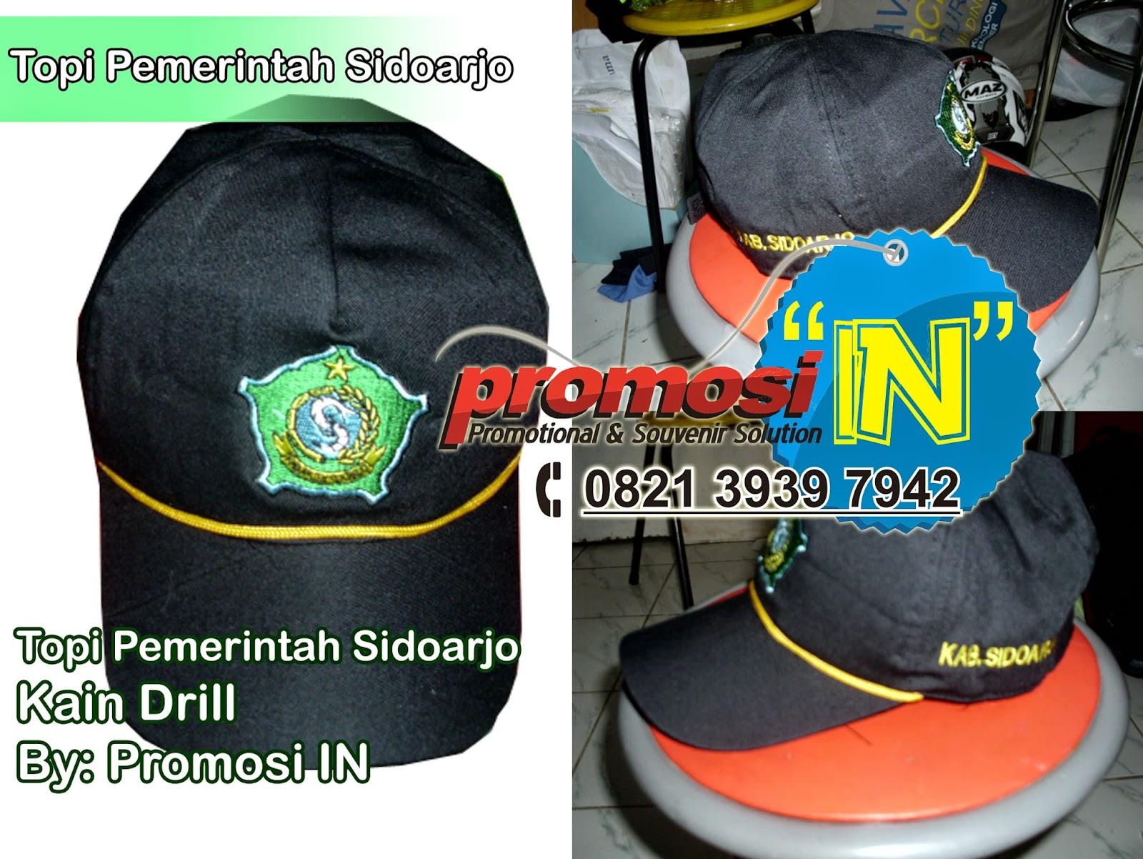 Topi, Topi Murah Surabaya, Topi Online, Topi Pemerintah,