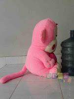 Boneka Monyet Lucu tampak samping