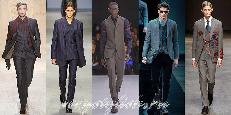 Fall 2015 Men's Business Fashion Style