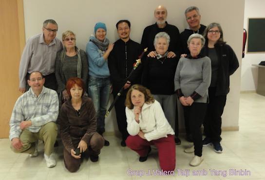 Vilafranca 2016 (con Yang Binbin y alumnos)