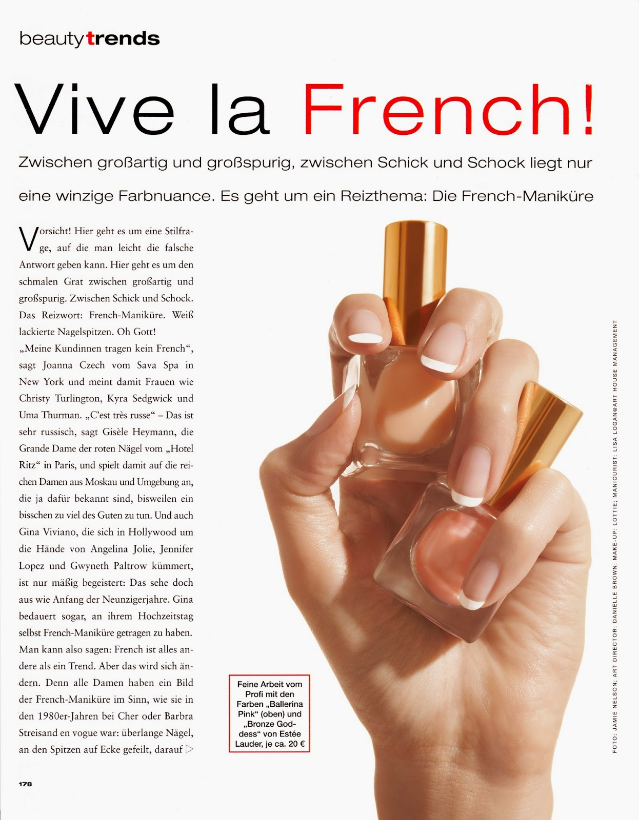 French Manicure Editorial, French Tips, Clean Nails, Neutral Nail ...