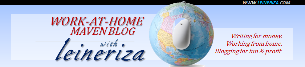Work-at-Home Maven Blog | Leineriza, Business Blogger for Hire