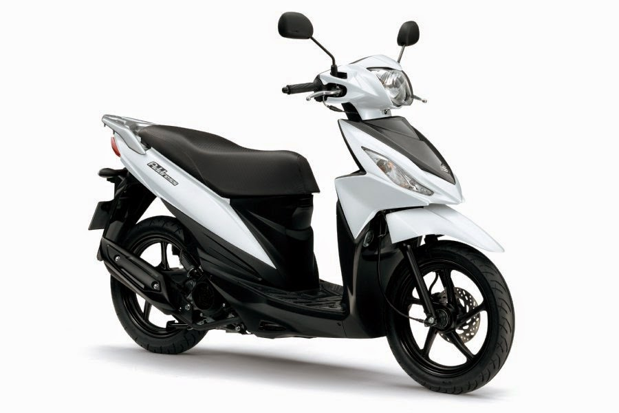 Suzuki Address 110 (2015) Front Side