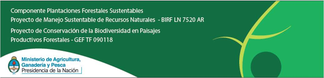 C rdoba forestal convocatoria para la presentaci n de for Proyecto productivo de vivero forestal
