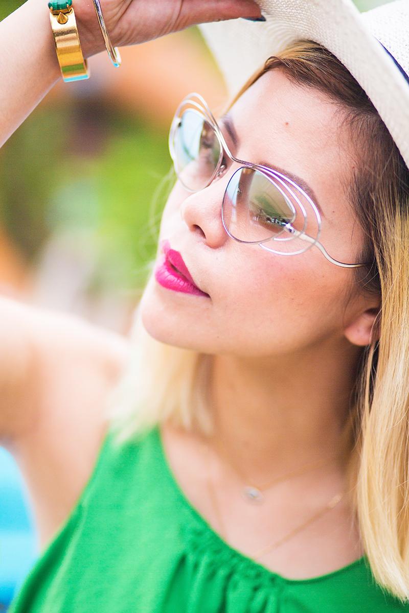 Erderm sunglasses- Crystal Phuong