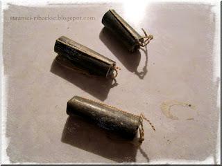 трубчатые грузила, литье трубчатых грузов из свинца