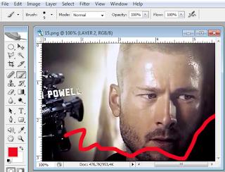 Cara membuat layer pada photoshop